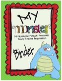 Monster Organizational Binder