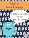 Monster Speech & Language Unit