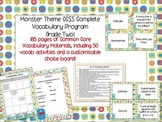 Monster Theme Grade Two CCSS Complete Vocabulary Program