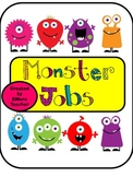 Monster Themed Classroom Jobs