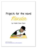 Monster by Walter Dean Myers Projects
