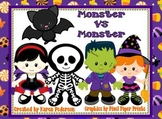 Monster vs Monster A Comparing Numbers to 1,000 Game