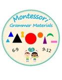 Montessori Grammar Materials (6-9 and 9-12)