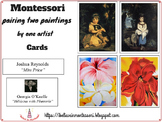 Montessori Pairing two paintings by one artist Cards