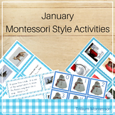 Montessori Style Activities for January