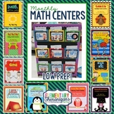 Monthly Math Centers: The Complete Year-Long Set