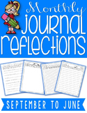 Monthly Reflection Journal {Writing Activities}