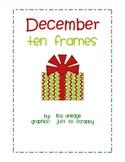 Monthly Ten Frames--December presents