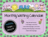 Monthly Writing Calendar - May