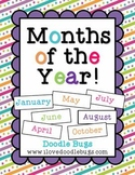 Months of the Year: A complete unit to teach the 12 Months