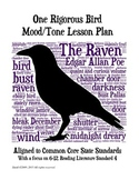 Raven: One Rigorous Bird Mood/Tone Lesson Plan NEWLY UPDATED!