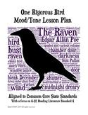 Raven: One Rigorous Bird Mood/Tone Lesson Plan NEWLY UPDATED!