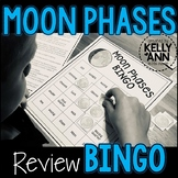 Moon Phases BINGO {Includes student notes page!}