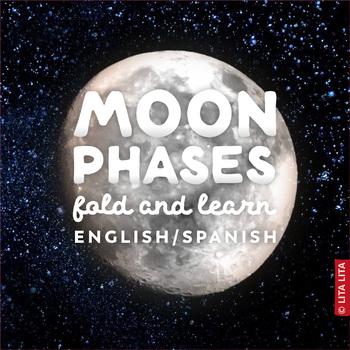 Moon phases Fold & Learn
