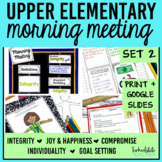 ~Morning Meeting Made Easy Set 2 (theme-based)~
