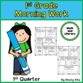 Morning Work for First Grade--First Quarter