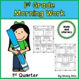 Morning Work for First Grade--First Quarter