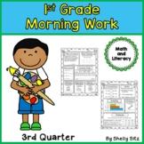 Morning Work for First Grade-Third Quarter