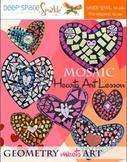 Mosaic Heart Art Activity