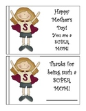 Mother-Father Day Coupon Cards