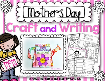 Mother's Day Craft and Writing (Watering Can)