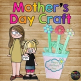 Mother's Day Flower Pot Book CRAFTY -- GIFT --All About Mom
