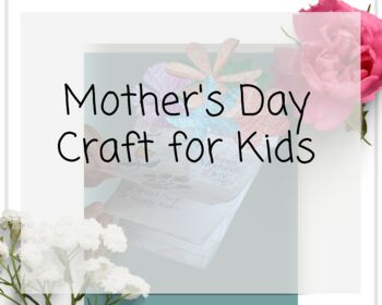 Mother's Day Flower Pot Booklet & Keepsake