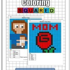 Holiday: Mother's Day Math Coloring