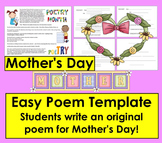 Mother's Day Original Poem Template - Use for Other Poems, too