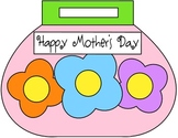 Mother's Day Purse-shaped Book/Craft