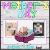 Mother's Day and Father's Day Craftivities: Tulips, Tablet