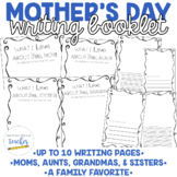 Mother's Day Writing Activity