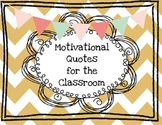 Motivational Quotes for the Classroom
