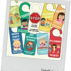 Speech Room Door Hangers