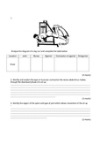 Movement Analysis Work Sheet
