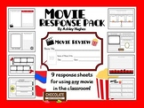 Movie Response Pack {9 Printables to Use With Movies!}