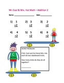 Mr. Cool & Mrs. Hot Math Numbers 1-10 Addition and Subtrac