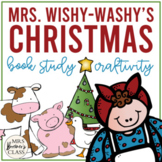 Mrs. Wishy-Washy's Christmas {a book study}