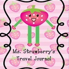 Ms. Strawberry Traveling Journal - Narrative  Writing Practice