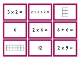 Mult. Match Up: Easy {Multiplication, Repeated Addition, a