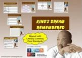 Multi-Leveled: MLK Constructed Response Practice & Word Wo