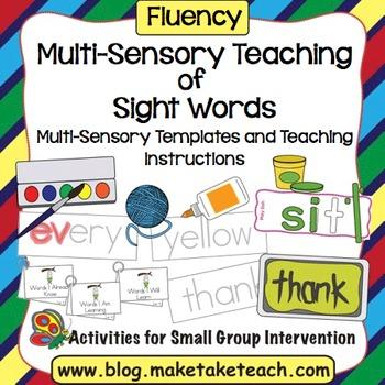 Multi-Sensory Teaching of Sight Words