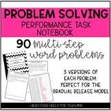 Multi-Step Problem Solving Performance Task {Notebook}