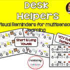 Multi-sensory Letter Intro Poster