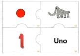 Multiple Representacion Numeros 1-10 Math Center Aligned w