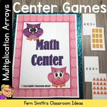 Fern Smith's Classroom Ideas Multiplication Arrays Go Fish, Old Maid and Concentration