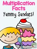 Multiplication Facts,  Yummy Sundaes