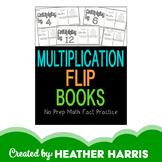 Multiplication Flip Books- print and go