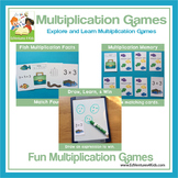 Multiplication Game: Fishing for Facts 2nd and 3rd Grade