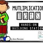 Multiplication Math Maths [a hands on building station]